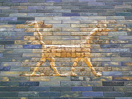 Sirrush from the Ishtar Gate