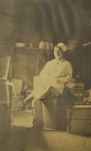 Photograph of Mr. Kay as a cook