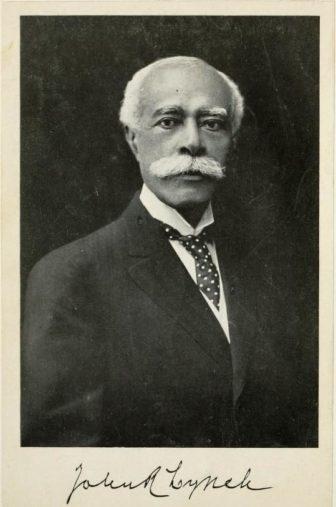 Portrait of John Roy Lynch.